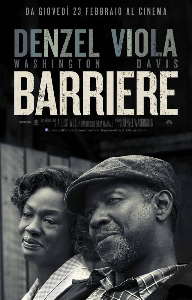Barriere poster ita