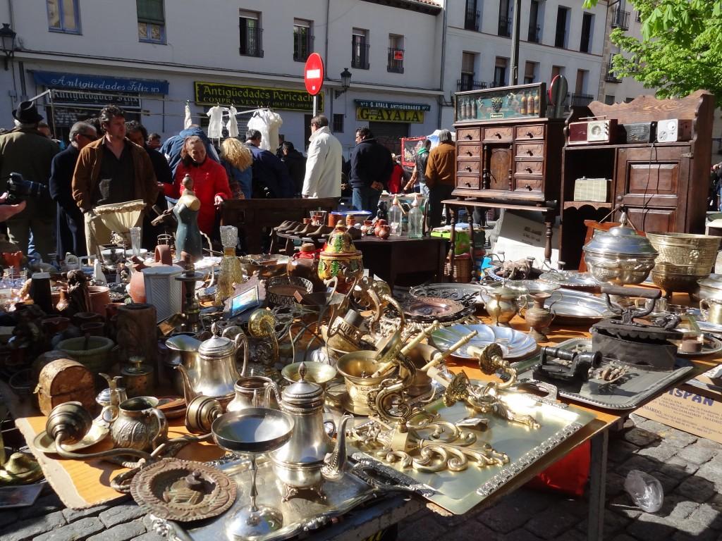 El Rastro e il mercato domenicale