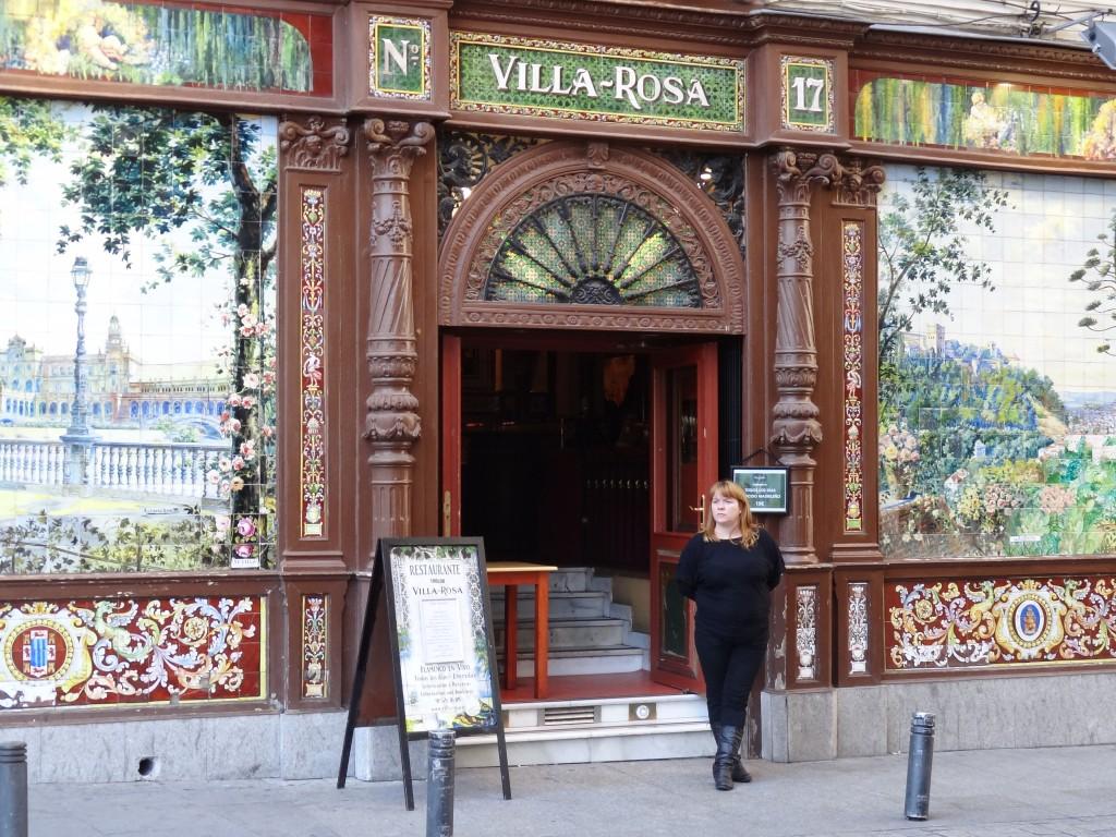 Villa Rosa a Plaza de Santa Ana