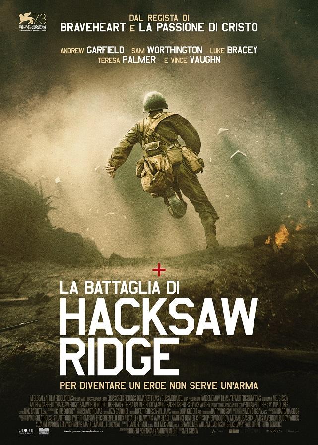 La battaglia di Hacksaw Ridge poster