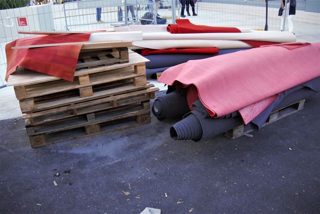 Il tappeto rosso