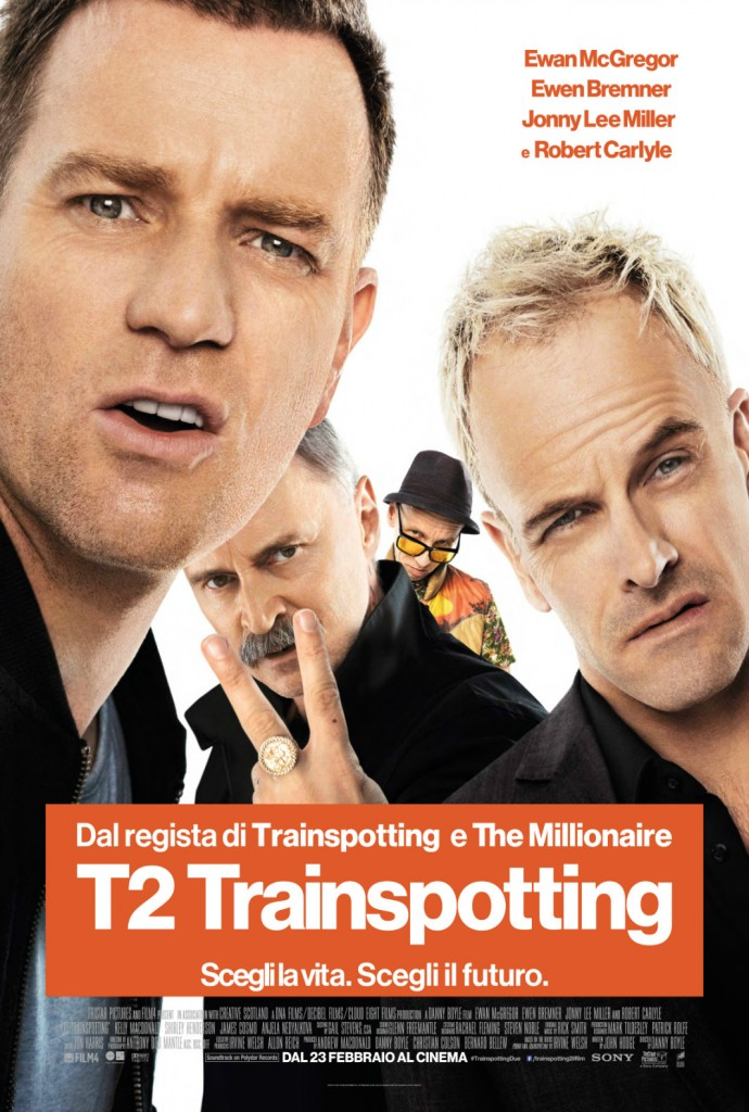 T2 Trainspotting poster ita