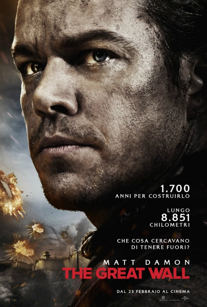 The great wall poster ita
