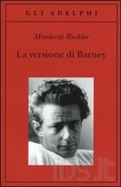 """Copertina del libro """"La versione di Barney"""""""